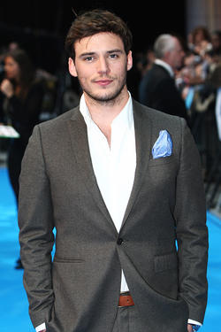 Sam Claflin at the UK premiere of &quot;Pirates of the Caribbean: On Stranger Tides.&quot;